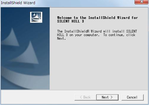 サバイバルホラーアドベンチャー PC ゲーム SILENT HILL 3 ヨーロッパ版 インストール