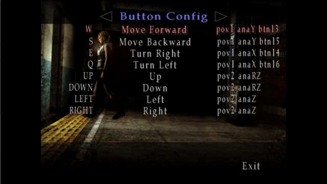 PC ゲーム SILENT HILL 3 キーボード・ジョイパッド キー・ボタン設定一覧(デフォルト)