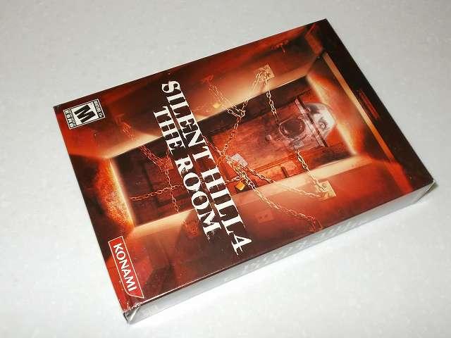 サバイバルホラーアドベンチャー PC ゲーム SILENT HILL 4 THE ROOM 北米版パッケージ