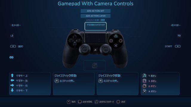 Steam 版 MONSTER HUNTER WORLD でデュアルショック 4 コントローラーのタッチパッド設定を最適化する方法、スプリットパッドに切り替える場合はマウス風のジョイスティックの設定をオフにする必要がある