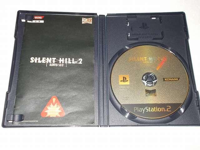 PS2 PlayStation2 サイレントヒル 2 最期の詩 マリア編シナリオ追加バージョン コナミ殿堂セレクション パッケージ DVD 1枚、PC ゲーム Silent Hill 2 日本語化のため PS2 版 サイレントヒル 2 ゲームディスクが必要、一部のベスト版では日本語化できない可能性あり