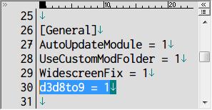 SILENT HILL 2 Enhanced Edition インストール方法と日本語化メモ、NVIDIA ビデオカードを使用している場合は WineD3D For Windows をインストール(AMD、Intel グラフィックスの場合は不要)、Silent Hill 2 Enhancement の d3d8.ini ファイルに記述されている [General] セクションにある d3d8to9、WineD3D For Windows を導入する場合は d3d8to9 を 1(初期値) にする