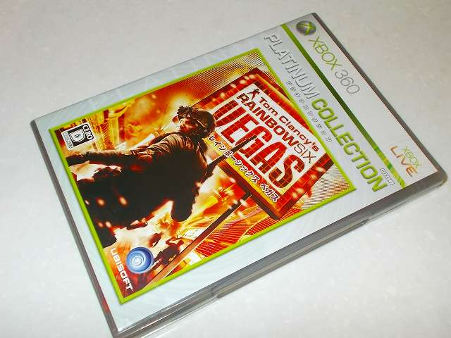 Xbox360 版 Tom Clancy's Rainbow Six Vegas Platinum Collection パッケージ