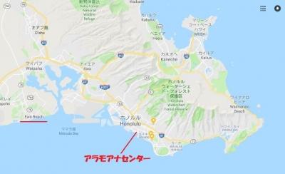 ホノルル周辺地図 1