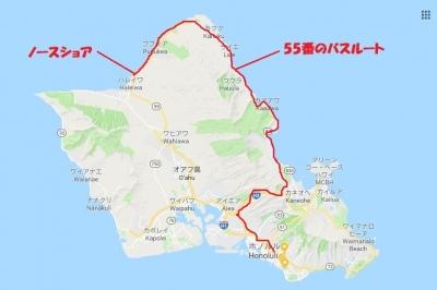 オアフ島地図2