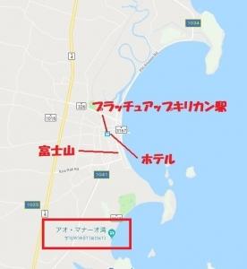 プラッチュアップキリカン地図