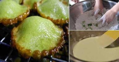 Pandan pancake (1)