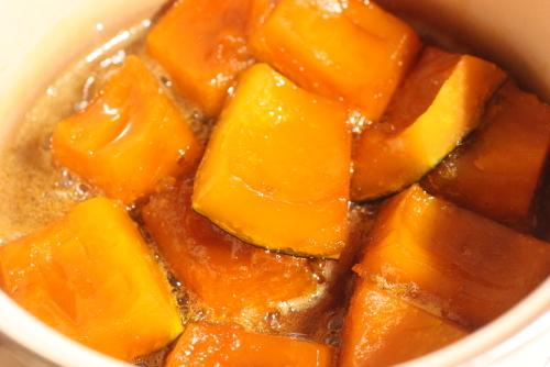 かぼちゃのみりん煮