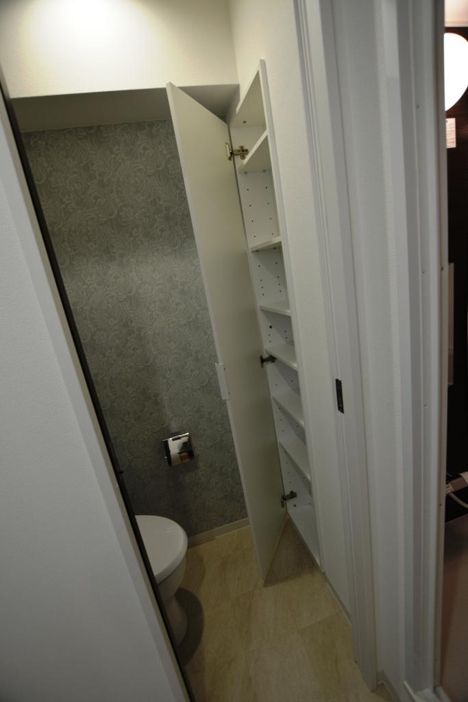 施工後 繕様105トイレ収納