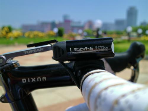 街乗り自転車におすすめのLEDライト・レザインHECTO DRIVE 350 XL