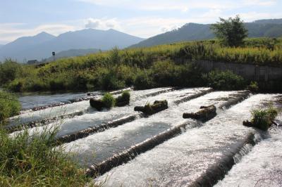 上富良野の川