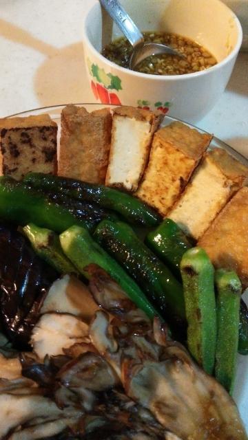 夏野菜と厚揚げ (360x640)