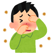 花粉症(目をこする