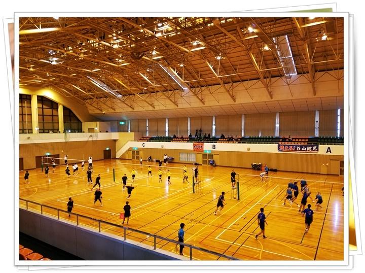 溝辺体育館2