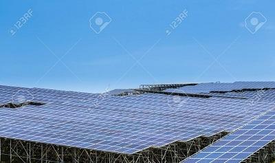 60962705-再生可能エネルギーの太陽光発電モジュールの背景[1]