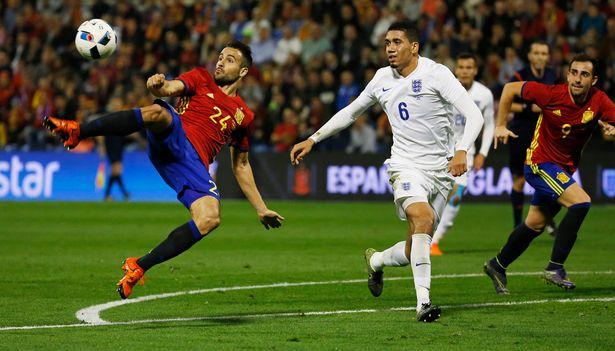 スペイン対イングランド