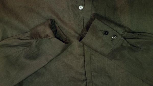 コットンビッグシャツ7