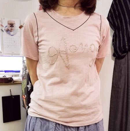 Tシャツをノースリーブに3