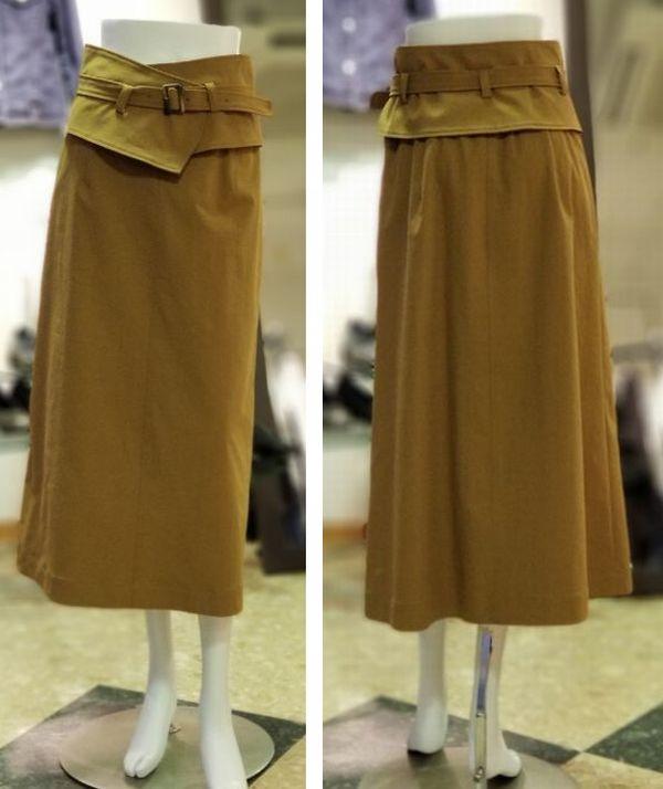 セミフレアスカート2