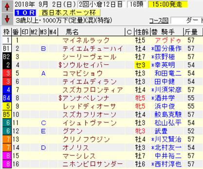 18西日本スポーツ杯