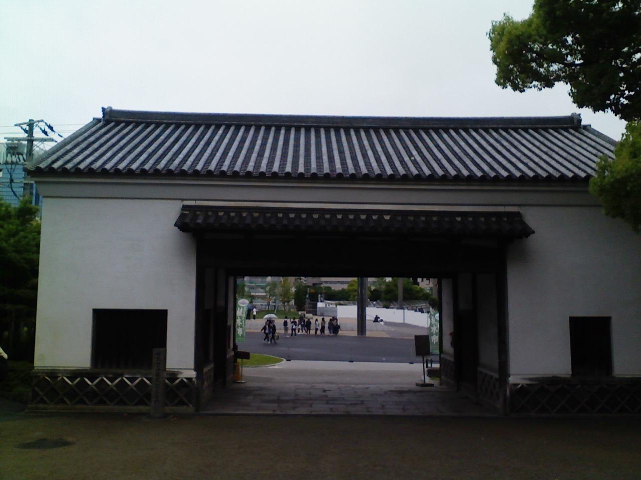 2018_08_05_旧黒田藩蔵屋敷長屋門