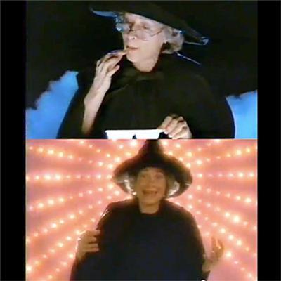 練っておいしいねるねるねるねCMの魔女のおばあさん