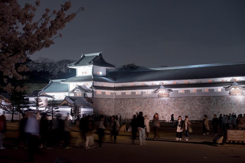 2018.04.03 金沢城 夜桜 11