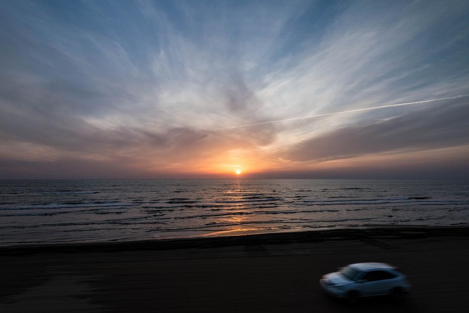 2018.05.11 千里浜 夕景 1