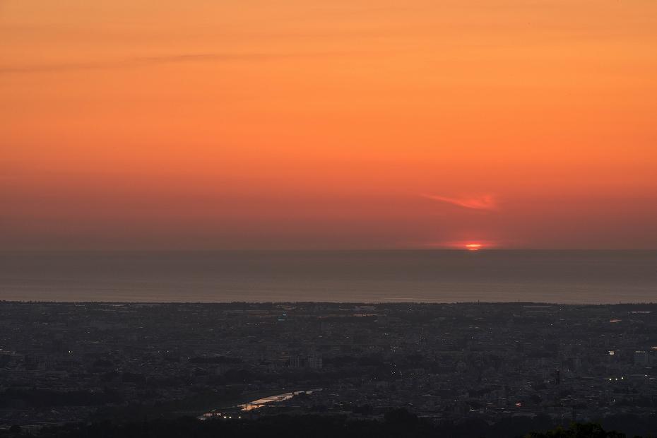 2018.05.21 金沢 キゴ山 夕焼け 9