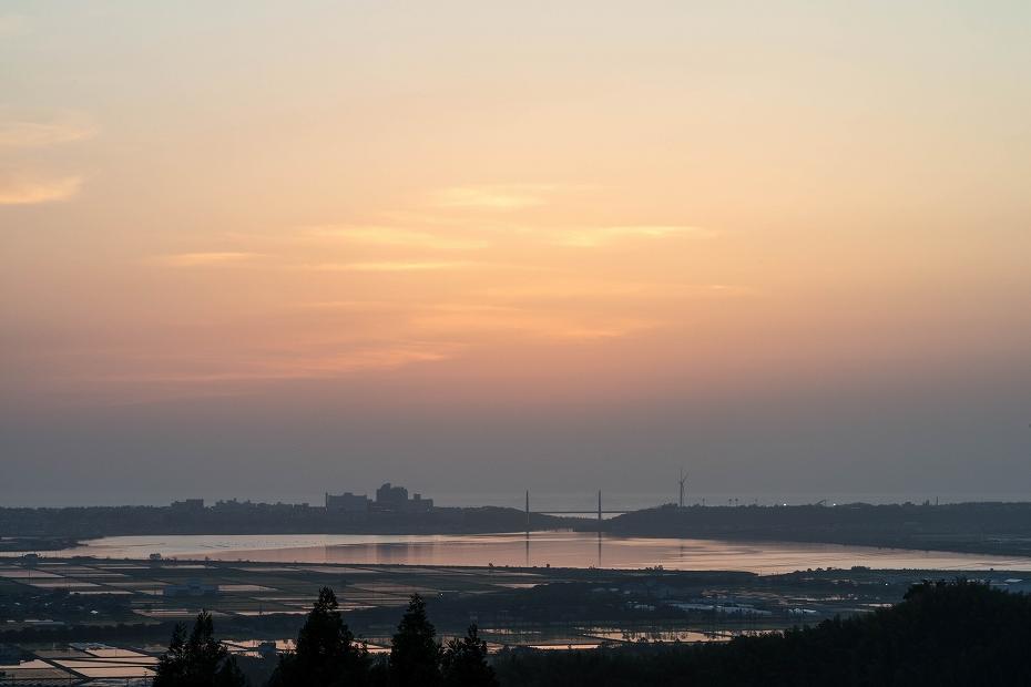 2018.05.25 河北潟 夕景 4