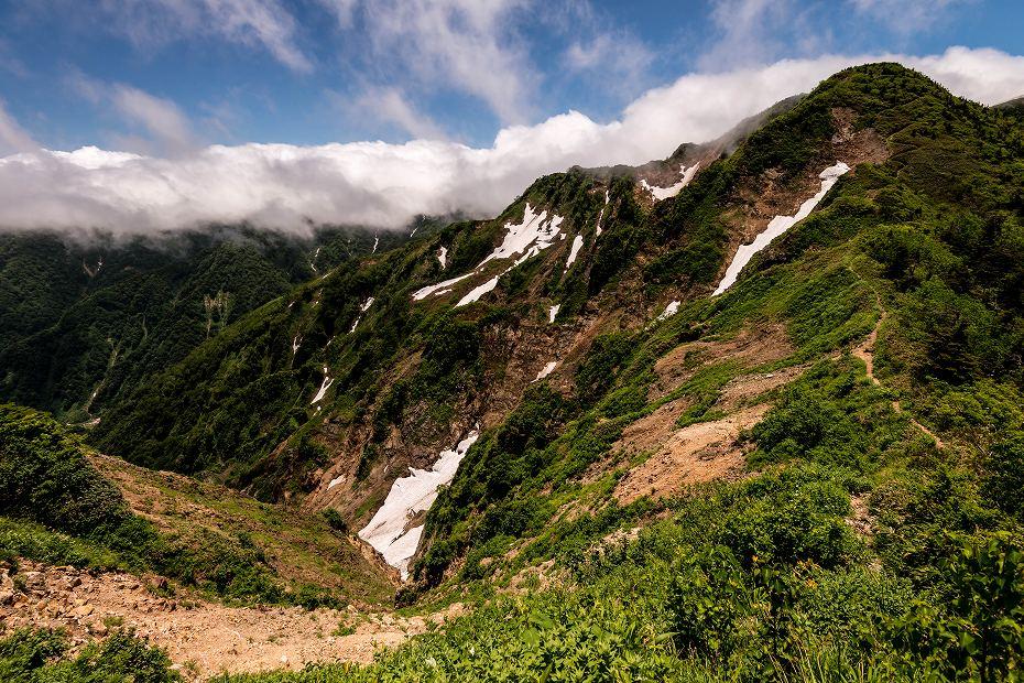 2018.07.02 別山天池~別当出合登山口 4 (2)