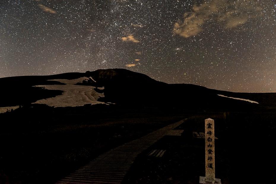 2018.07.11 白山 御前峰 星空 1 (1)