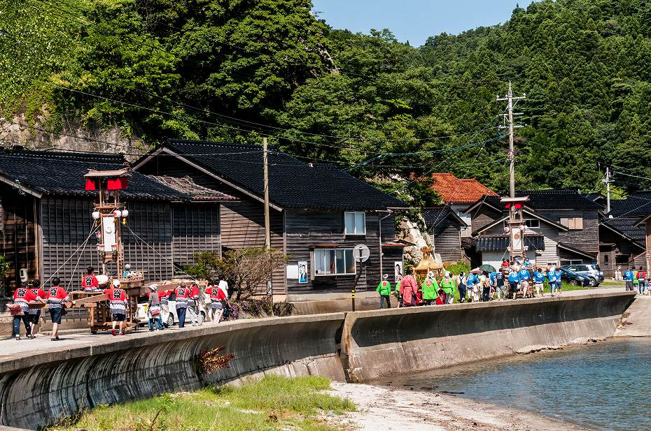2018.07.14 能登町 小浦 キリコ祭り 8