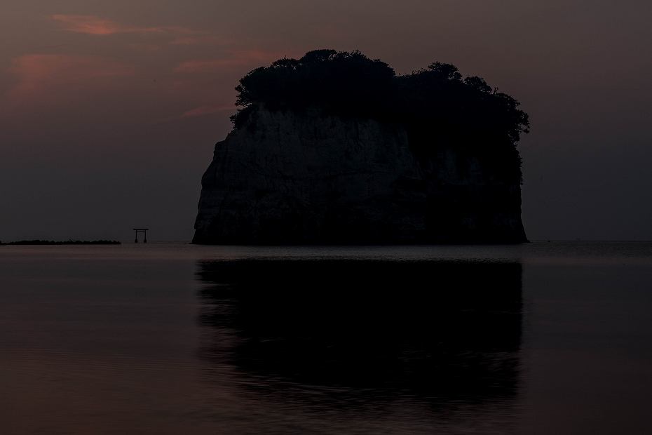 2018.07.20 見附島 朝景 1 (2)