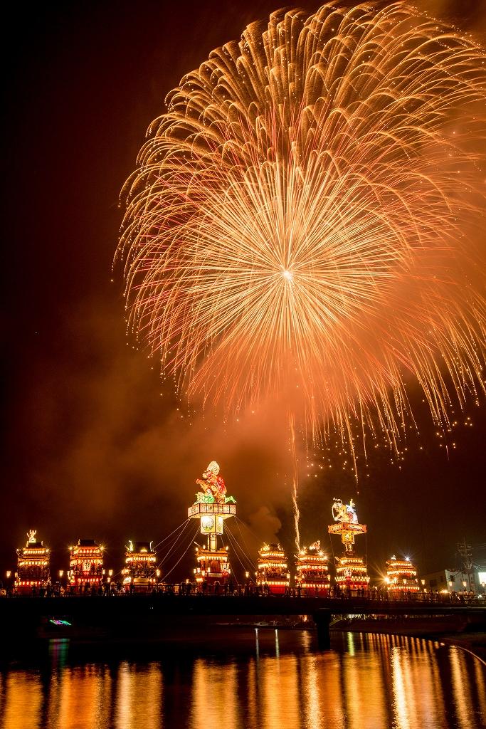 2018.07.20 燈籠山祭り 花火 4
