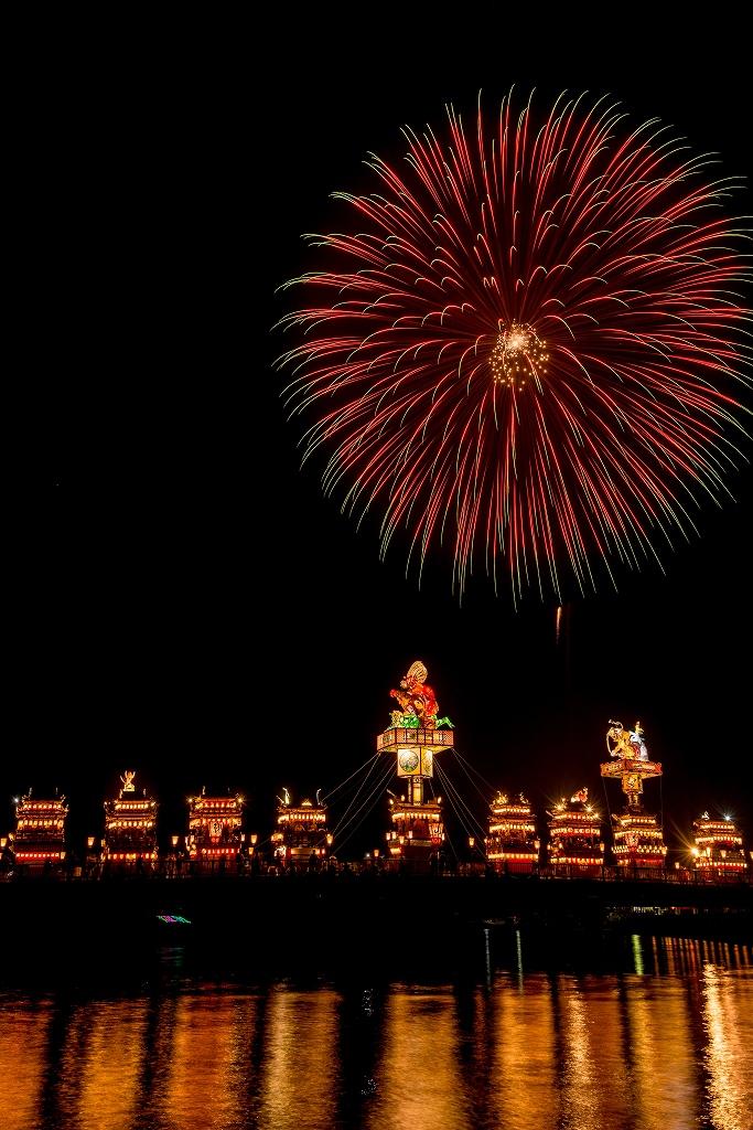 2018.07.20 燈籠山祭り 花火 3