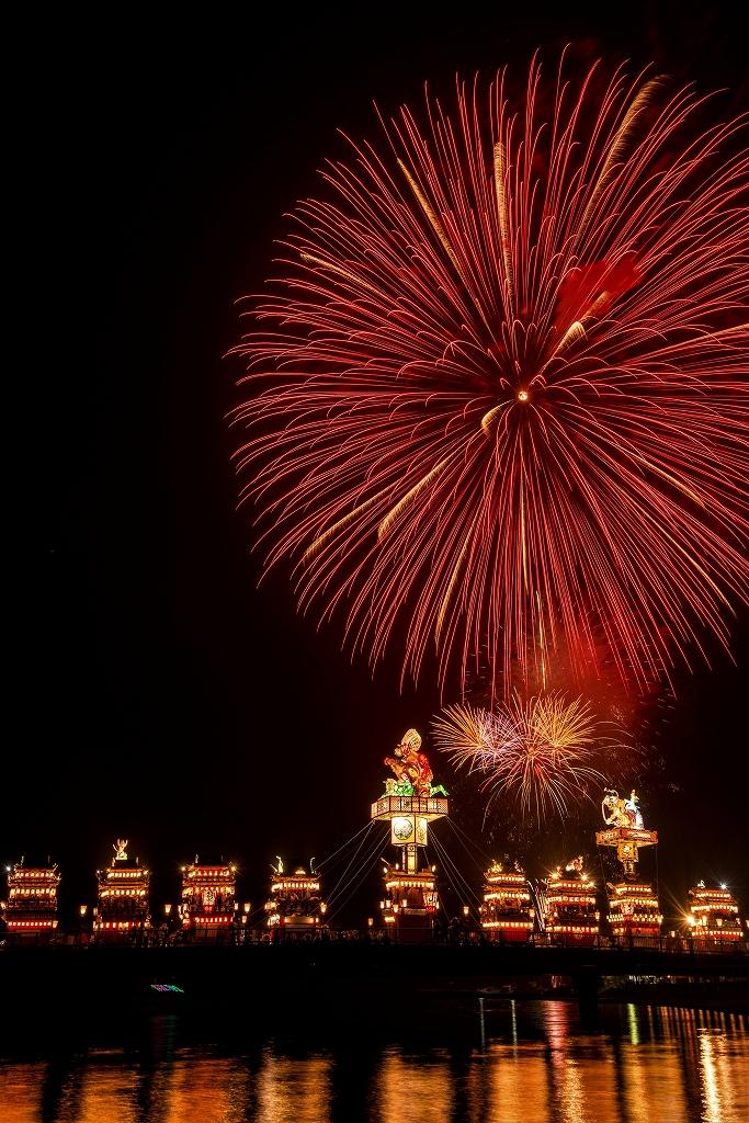 2018.07.20 燈籠山祭り 花火 2