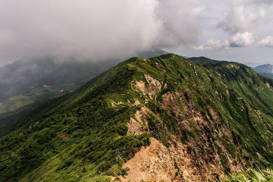 2018.07.25 別山から油坂の頭まで 1 (9)