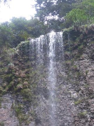 壇行の滝・雄滝_その2