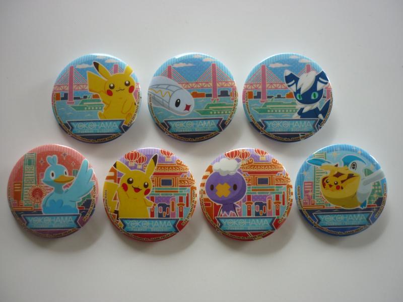Poketabi POPスタイル 横浜限定 コレクション缶バッジ