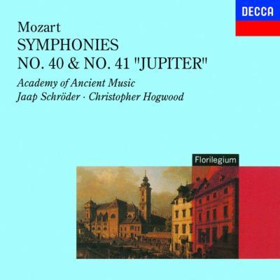 mozart symphonies 40 41 hogwood