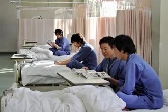 入院治験者の様子