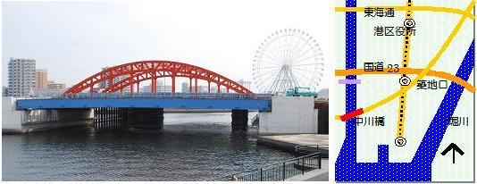 中川橋マップ