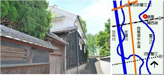 蟹江造酒屋マップ