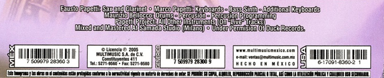 Fausto Papetti (Duck CD3-8360・2)