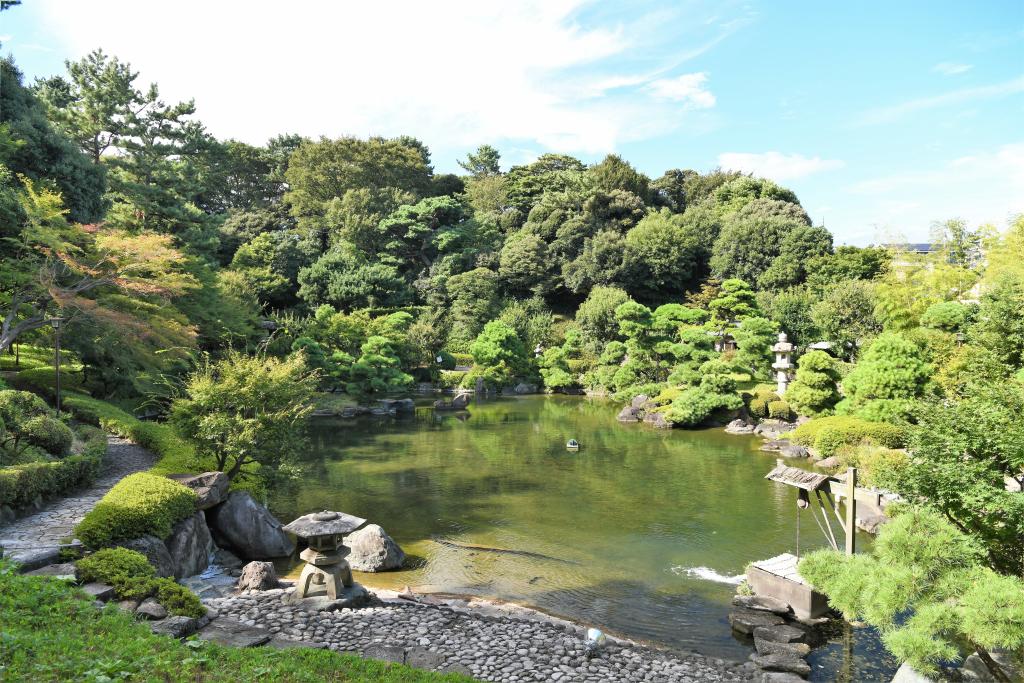 松濤園 全景