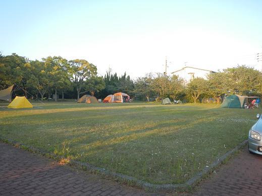 糸根地区公園キャンプ場