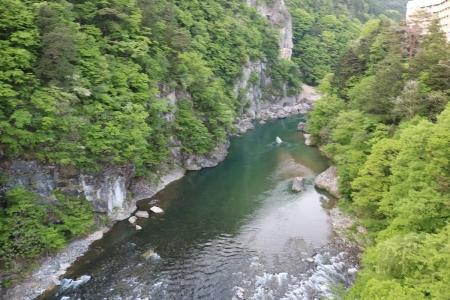 鬼怒楯岩大吊橋(2)