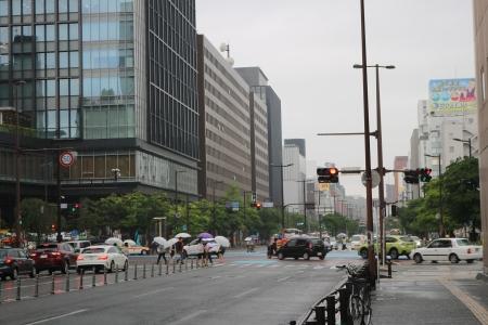 渡辺通一丁目交差点