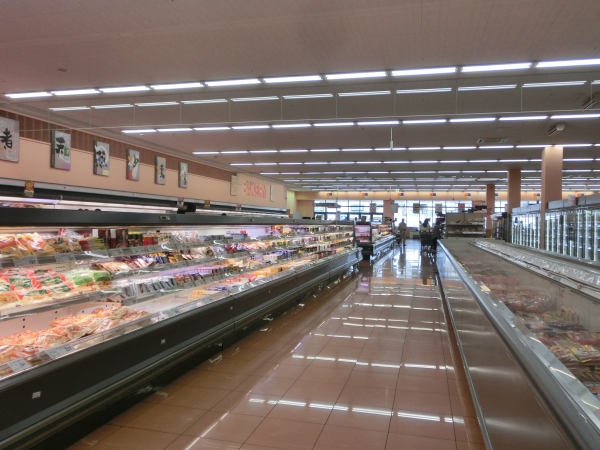 冷凍食品売場